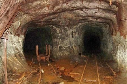 Mina abandonada que teria vazado produtos químicos em rio de Kalachi