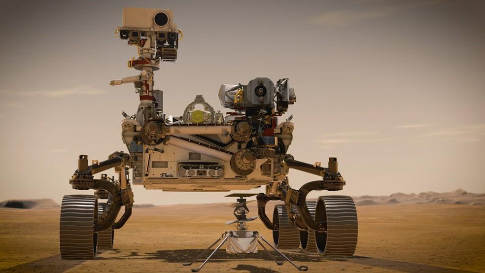 O Perseverance, o novo robô que a Nasa enviará rumo a Marte