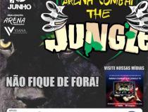 ARENA COMBAT  THE JUNGLE! Jorge Araújo manda recado para adversário