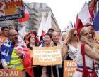 Franceses protestam contra novas medidas sanitárias anticovid