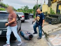 Motorista de aplicativo liderava organização criminosa que realizava assaltos em Manaus