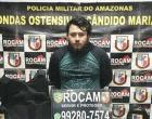 'BARBA' : Rocam prende um dos maiores traficantes da zona centro-sul de Manaus