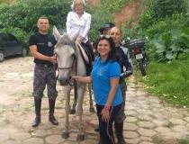 Polícia Militar recebe visita de idosos da Casa São Vicente de Paulo