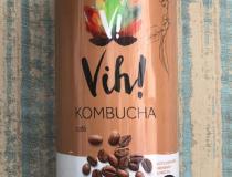 Vih! lança primeiro Kombucha sabor café em lata