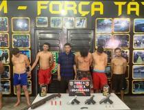 Polícia prende 12 membros de organização criminosa em Manaus