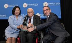 Brazil-Florida Business Council concede prêmios a Ozires Silva e Ministro Marcos Pontes em cerimônia em São Paulo