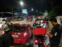 Detran-AM flagra 23 motoristas alcoolizados e três são presos no final de semana