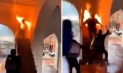 Manifestante se incendeia acidentalmente durante protesto contra a morte de George Floyd