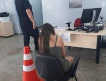 Equipe do 23° DIP prende duas mulheres com entorpecentes no bairro Alvorada