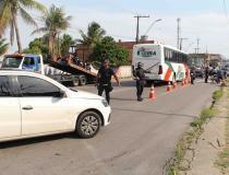Secretaria de Segurança realiza operação de repressão ao crime no Viver Melhor e Mutirão