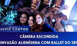 PEGADINHA - Invasão Alienígena com Ballet do SBT