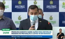 Vídeo: ações para reforçar medidas de prevenção à Covid-19 em Manaus