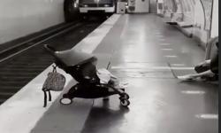 Vídeo tenso! Bebê é deixado em parada de metrô e vídeo viraliza; assista