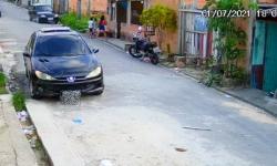 IMAGENS FORTES! Câmera registra atropelamento de três crianças no bairro Santa Etelvina