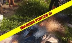IMAGENS FORTES! Corpo de mototaxista é encontrado degolado na Compensa; vídeo
