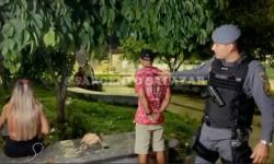 Sargento Salazar flagra casal vendendo drogas na zona norte de Manaus; vídeo