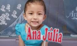 REVOLTANTE! Menina de 5 anos é morta com tiro na cabeça no Amapá; vídeo