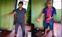 Dupla acusada de roubo apanha de moradores da Vila Marinho; vídeo