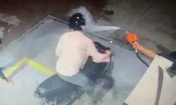 VÍDEO: Ladrão é recebido com banho de gasolina em Parintins-AM