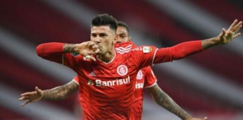 Inter massacra Olimpia na estreia de Taison e mantém liderança no grupo; veja os gols