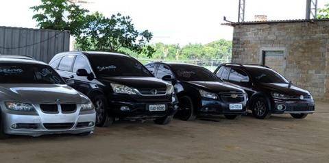 Sejusc e PC-AM promovem leilão de veículos que eram usados no tráfico de drogas em Manaus