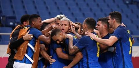 Richarlison brilha de novo, e Brasil vence e vai às quartas em Tóquio; veja os gols