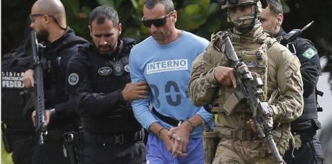 Marcola é levado a hospital em Brasília, sob forte esquema de segurança