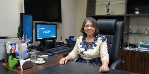 Desembargadora Ormy da Conceição Dias Bentes é eleita presidente do TRT11 para o biênio 2020-2022