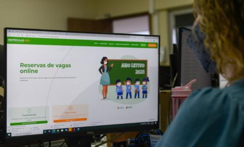 Prefeitura de Manaus e Governo do Amazonas reforçam o procedimento de matrículas on-line