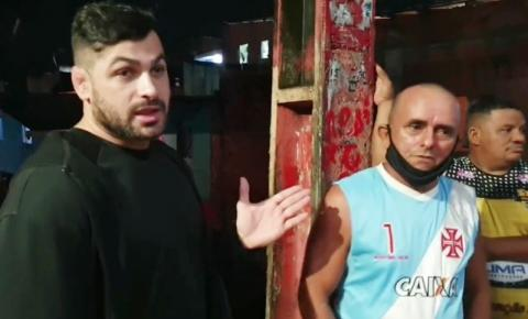 Capitão Carpê atende pedido de moradores após forte chuva na Vila Marinho