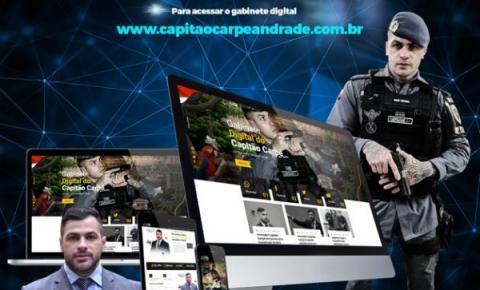"""Capitão Carpê lança """"Gabinete Digital"""" para atender população"""