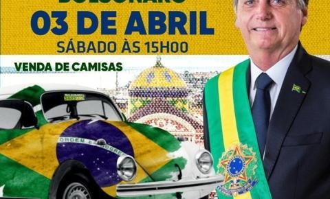 Direita Amazonas promove evento em apoio ao presidente Bolsonaro neste sábado