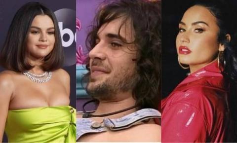 Fiuk diz que já foi paquerado por Demi Lovato e Selena Gomez, mas internautas desmentem; vídeo