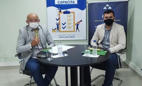 Associação Amazonense dos Municípios inicia série de capacitações virtuais para prefeitos e gestores