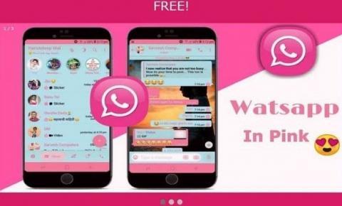 Novo golpe com WhatsApp rosa pode controlar celulares das vítimas