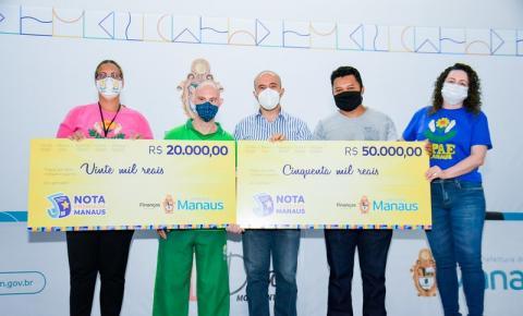 'Nota Premiada Manaus' entrega R$ 182 mil aos sorteados