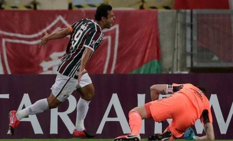 Fred e Cazares lideram reação, e Fluminense arranca empate com River Plate na Libertadores