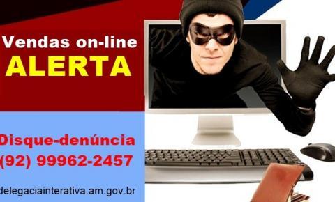 Polícia alerta população para casos de estelionato em plataformas de vendas on-line