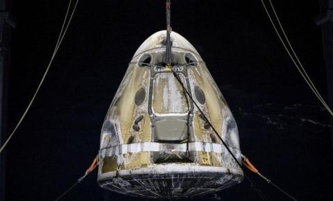 'Me senti pesado': astronautas relatam retorno à Terra na SpaceX
