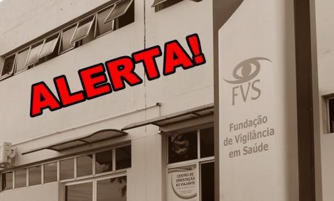 FVS-AM confirma, em Manaus, caso de variante da Covid-19 identificada no Reino Unido