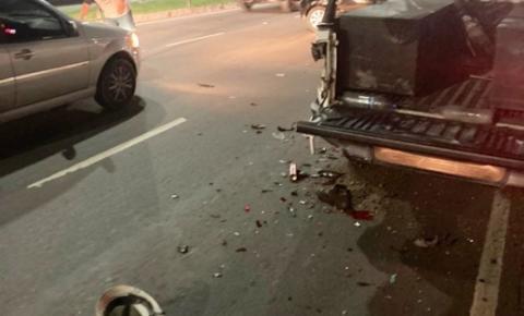 Homem que estava trabalhando é atropelado e morre na avenida Torquato Tapajós