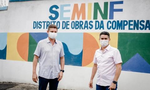 Após ataques, David e Marcos Rotta entregam Distrito de Obras completamente revitalizado na zona Oeste