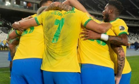 Brasil faz bom 1º tempo, vence o Peru e garante vaga na final da Copa América; vídeo