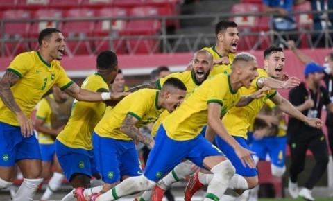 Nos penâltis, Brasil vence México e está na final do futebol em Tóquio; vídeo
