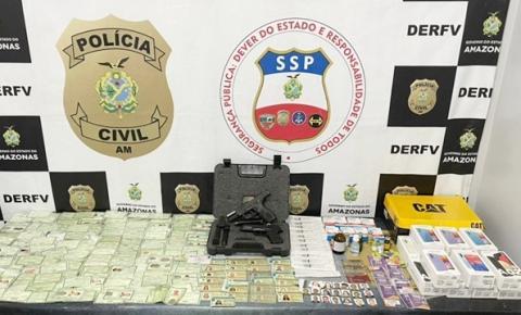 PC-AM deflagra operação e prende integrantes de grupo criminoso responsável por roubo de veículos