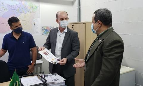 General Mansur reúne com secretários executivos da SSP-AM para definir ações da nova gestão