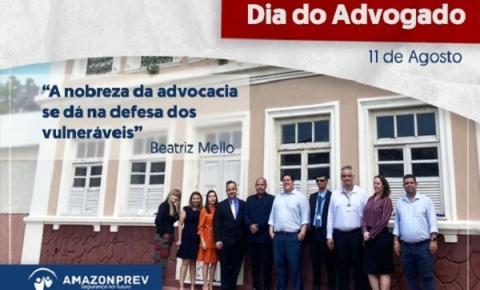 No Dia do Advogado, Amazonprev destaca importância da profissão para o serviço público