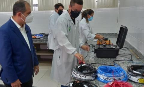 Operação Ligação Segura reprova 40% das marcas periciadas de fios e cabos elétricos de baixa tensão em Manaus