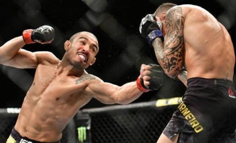 José Aldo vence Renato Moicano por nocaute no UFC Fortaleza. Veja os melhores momentos