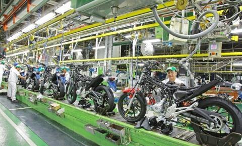Honda Motocicletas registra 8,59% de crescimento